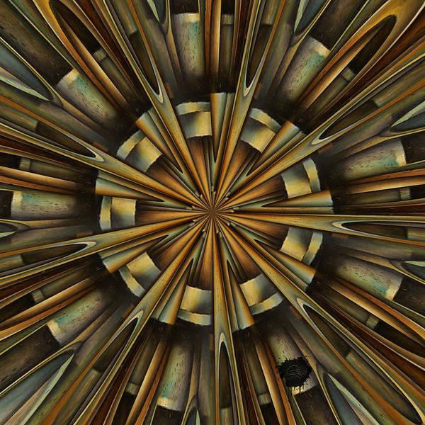 Digital Art - Top Of The Hut by Lisa Schwaberow