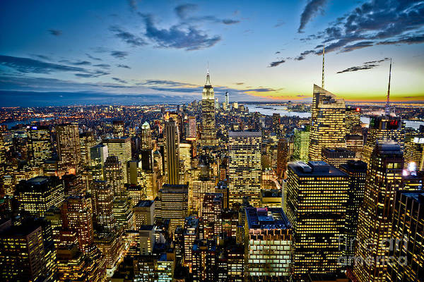 Wall Art - Photograph - Top Of The Rock by Stacey Granger