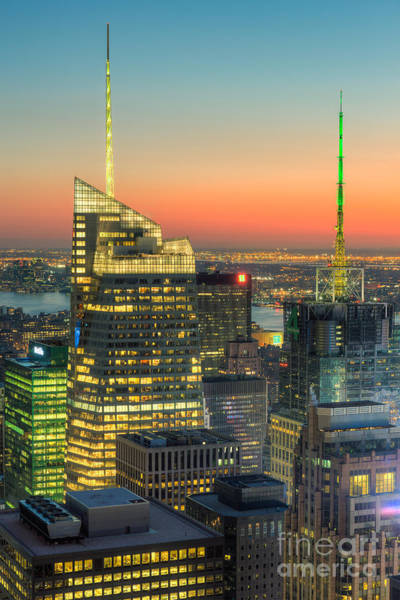Photograph - Top Of The Rock Twilight II by Clarence Holmes