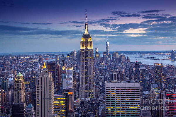 City Scape Photograph - Top Of The World by Marco Crupi