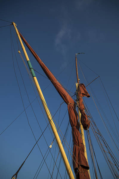 Rigging Photograph - Top Rigging by Nigel Jones