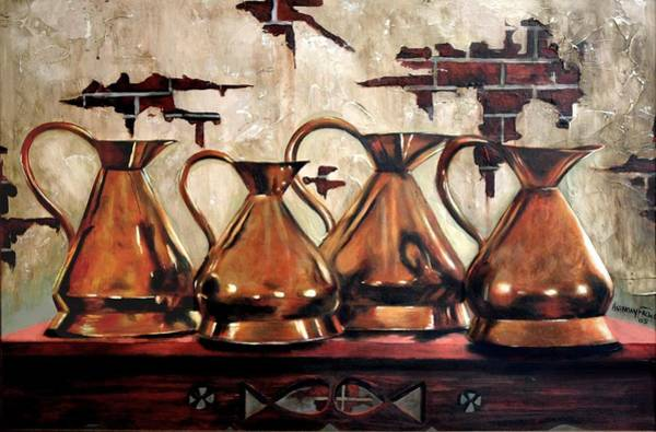 Painting - Top Shelf by Anthony Falbo
