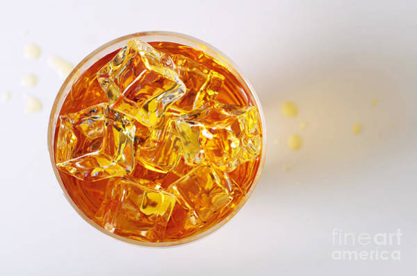 Wall Art - Photograph - Top View On Drink by Carlos Caetano
