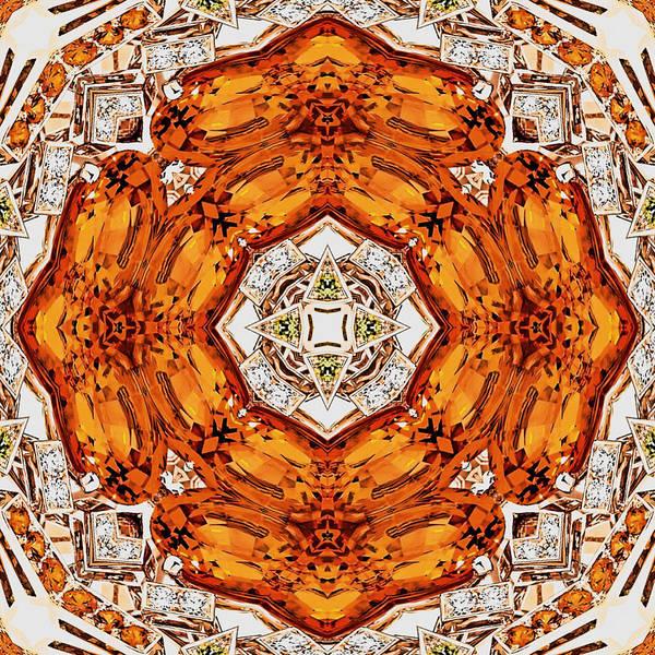 Digital Art - Topaz And Peridot Gems by Charmaine Zoe