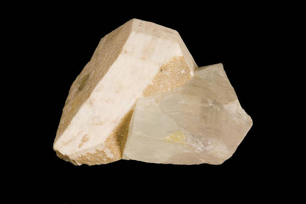 Uncut Photograph - Topaz Or Beryl Crystals by Science Stock Photography/science Photo Library
