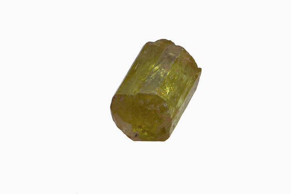 Uncut Photograph - Topaz by Science Stock Photography/science Photo Library