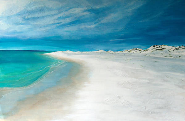 Gulf State Park Painting - Topsail Daydreams by Racquel Morgan