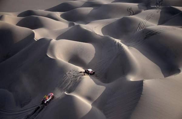 Dakar Photograph - Topshot-auto-moto-rally-dakar-stage5 by Franck Fife