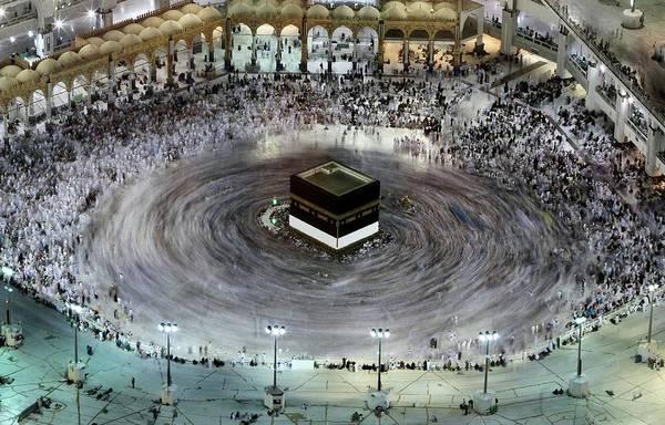 Pilgrimage Photograph - Topshot-saudi-islam-hajj by Afp Contributor