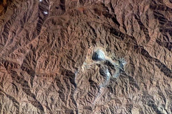Copper Mountain Photograph - Toquepala Copper Mine by Nasa