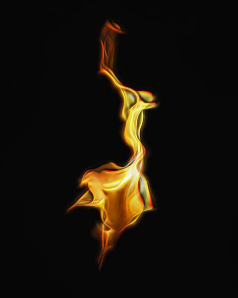 Torch In The Wind Art Print