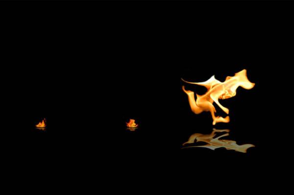 Torch Relay Art Print