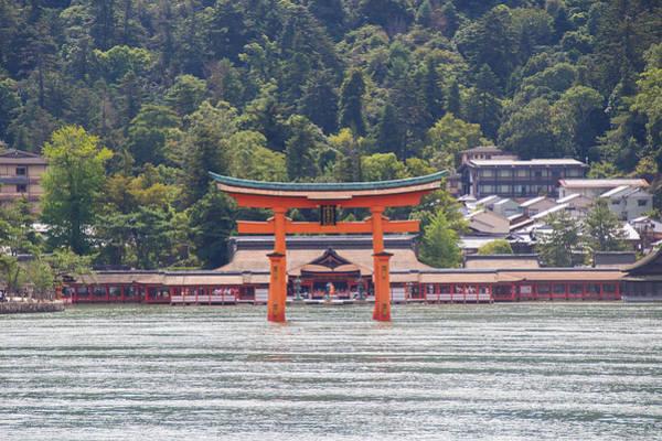 Laura Palmer Wall Art - Photograph - Torii Gate Of Miyajima by Laura Palmer