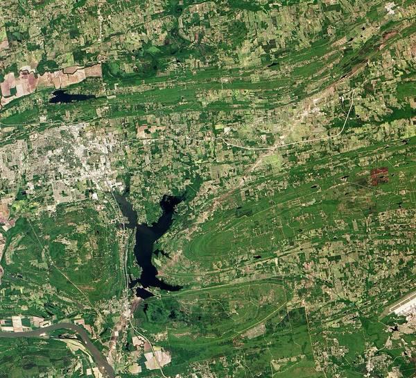 Lakes Region Photograph - Tornado Destruction by Nasa Earth Observatory