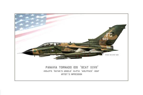Cockpit Digital Art - Tornado Scat Xxii by Peter Van Stigt