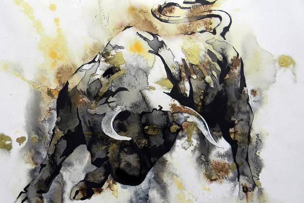 Toros Painting - T  . O  .  R  .  O  .   A B S T R A C T by J  - O   N    E