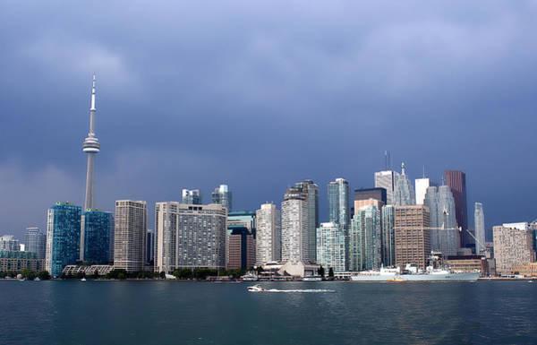 Photograph - Toronto Before Storm by Milena Ilieva