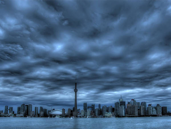 Wall Art - Photograph - Toronto Blue by Max Witjes