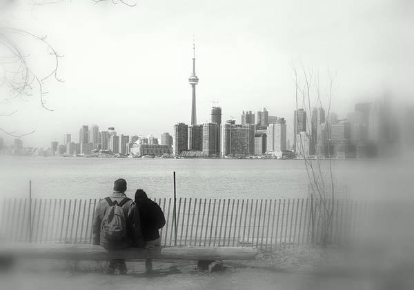 Wall Art - Photograph - Toronto Blurry Romance by Valentino Visentini