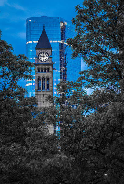 Photograph - Toronto Clock Tower by Levin Rodriguez
