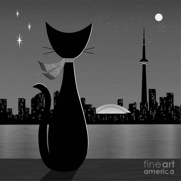 Digital Art - Toronto by Donna Mibus