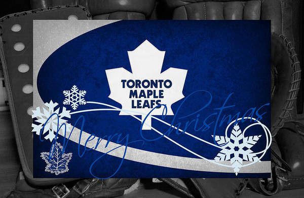 Wall Art - Photograph - Toronto Maple Leafs Christmas by Joe Hamilton