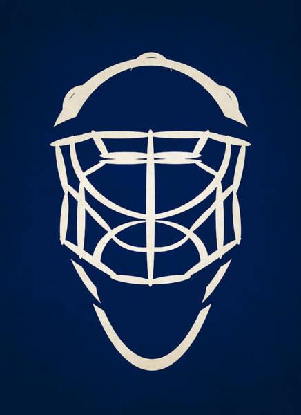 Wall Art - Photograph - Toronto Maple Leafs Goalie Mask by Joe Hamilton