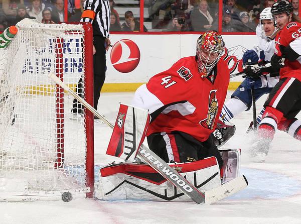 National Hockey League Photograph - Toronto Maple Leafs V Ottawa Senators by Andre Ringuette