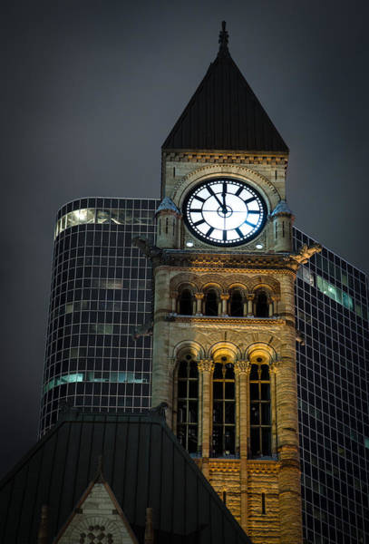 Photograph - Toronto Old City Hall Tower by Levin Rodriguez
