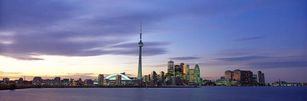 Cn Tower Wall Art - Photograph - Toronto, Ontario, Canada by Panoramic Images