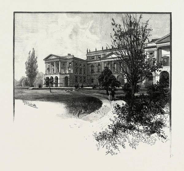 Toronto Drawing - Toronto, Osgoode Hall, Canada by Canadian School