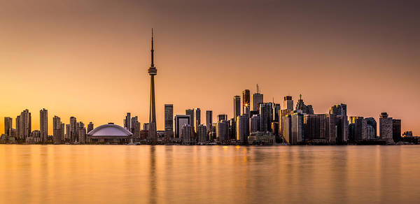 Photograph - Toronto Panorama At Sunset by Mihai Andritoiu