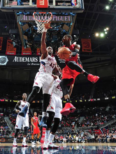 Photograph - Toronto Raptors V Atlanta Hawks by Scott Cunningham