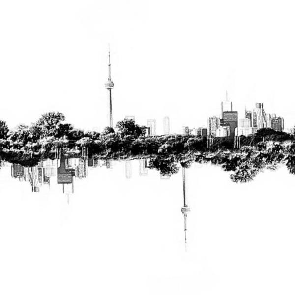 Digital Art - Toronto Reflection by Natasha Marco