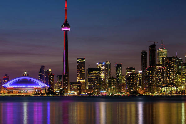 Lake George Photograph - Toronto Rides New Economic Boom by George Rose