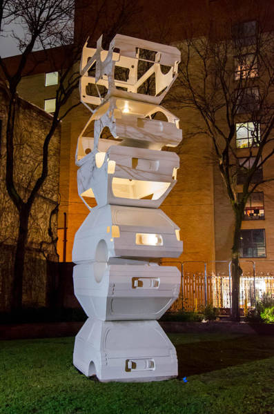 Photograph - Toronto Sculpture Garden  7d01024 by Guy Whiteley