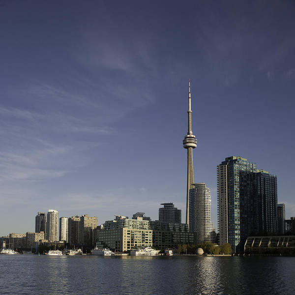 Photograph - Toronto Skyline by Kim Aston