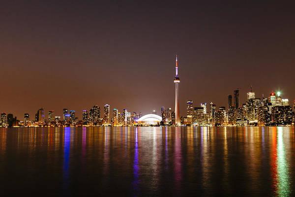 Toronto Blue Jays Photograph - Toronto Skyline by Laura Tucker