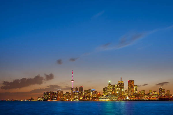 Photograph - Toronto Skyline by Sebastian Musial