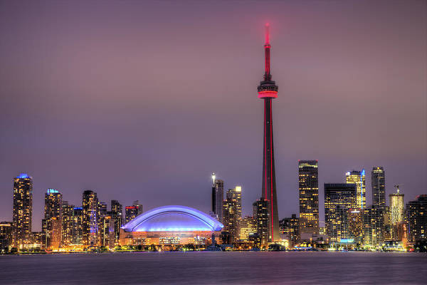 Cn Tower Wall Art - Photograph - Toronto Skyline by Shawn Everhart