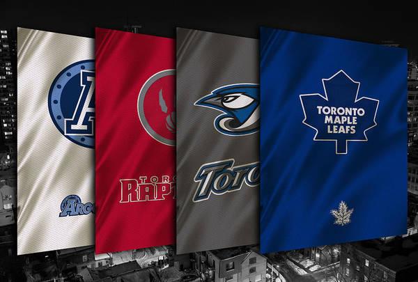 Wall Art - Photograph - Toronto Sports Teams by Joe Hamilton