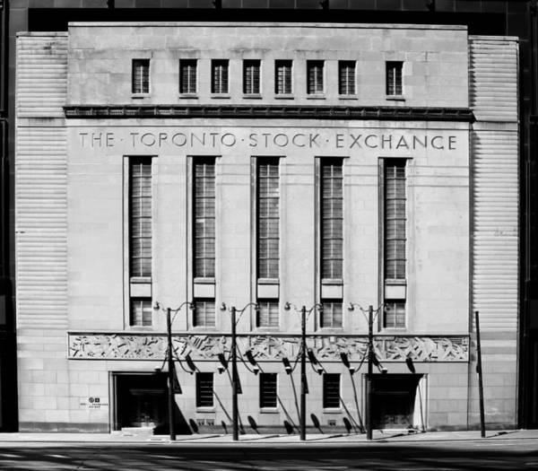 Photograph - Toronto Stock Exchange 1b by Andrew Fare