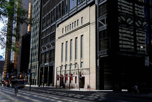 Photograph - Toronto Stock Exchange 2 by Andrew Fare