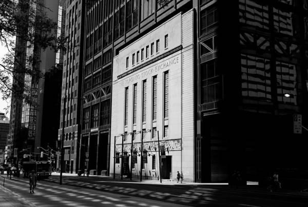 Photograph - Toronto Stock Exchange 2b by Andrew Fare