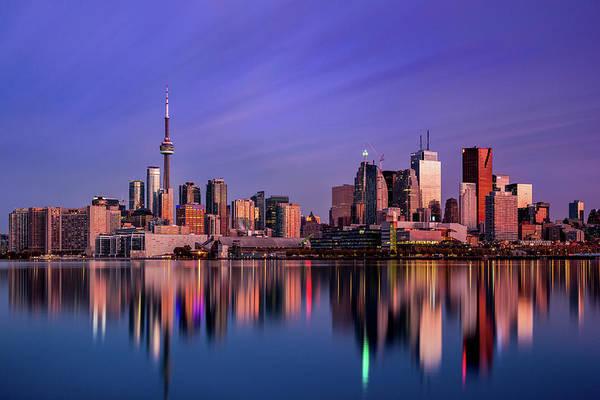 Toronto Photograph - Toronto Sunrise by Jason Crockett