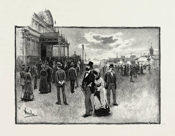 Toronto Drawing - Toronto, The Exhibition Grounds, Canada by Canadian School