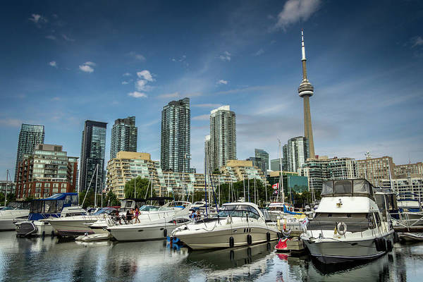 Moored Photograph - Toronto Yatchs by Jean Surprenant