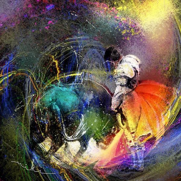 Torero Wall Art - Painting - Toroscape 20 by Miki De Goodaboom