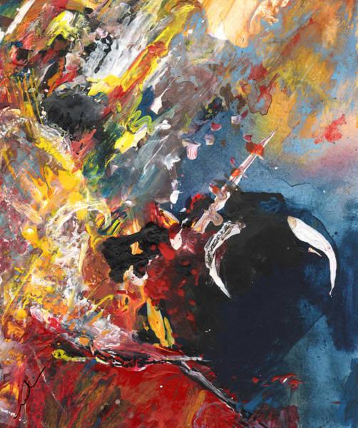 Torero Wall Art - Painting - Toroscape 64 by Miki De Goodaboom