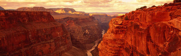 Chasm Photograph - Toroweap Point, Grand Canyon, Arizona by Panoramic Images